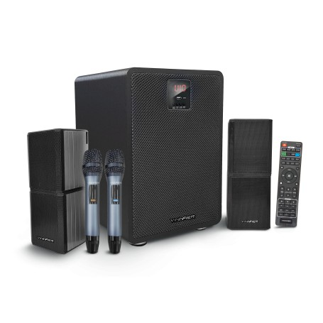Studio 500 BTRM High Performance Wireless Studio Speaker Free 2 Wireless UHF Mics